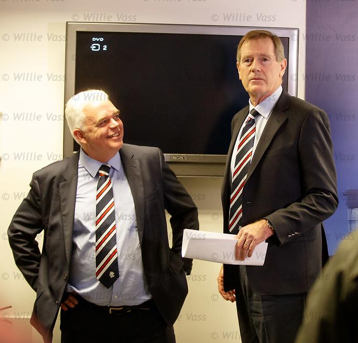 James Blair and Dave King