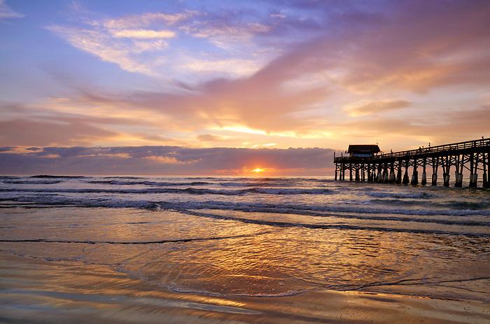Cocoa Beach Pier at Sunrise