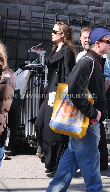 "WWW.ACEPIXS.COM . . . . .  ....April 23 2009, New York City....Actress Angelina Jolie on the Manhattan set of the new movie 'Salt"" on April 23 2009 in New York City....Please byline: AJ Sokalner - ACEPIXS.COM..... *** ***..Ace Pictures, Inc:  ..tel: (212) 243 8787..e-mail: info@acepixs.com..web: http://www.acepixs.com"