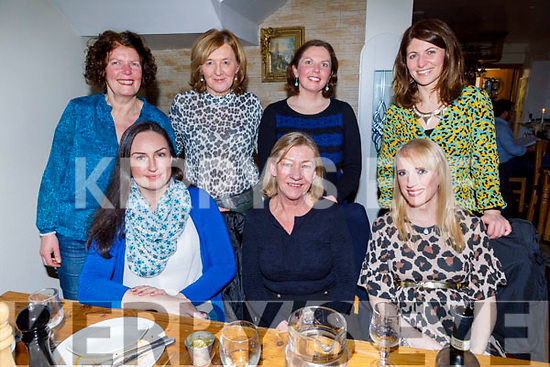 Trish Nevalainen celebrating her retirement from Tralee Educate Together on Friday in Bella Bia.<br /> Seated l to r: Brenda Daly, Trish Nevalainen and Treasa Browne.<br /> Back l to r: Mary Brosnan (Principal), Ann Condon, Therese O'Connor and Gail Groves.