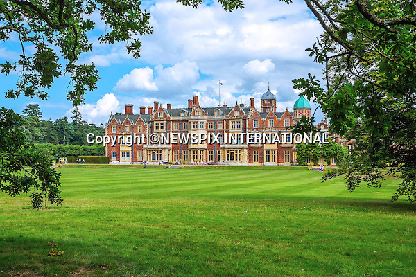05.07.2015; Sandringham, UK: PRINCESS CHARLOTTE'S CHRISTENING<br /> Sandringham House on the Sandringham Estate, where Princess Charlotte Elizabeth Diana's christening party will be held.<br /> The last Royal Christening held here, was that of Princess Eugenie 25 years ago in 1990.<br /> Mandatory Photo Credit: &copy;NEWSPIX INTERNATIONAL<br /> <br /> **ALL FEES PAYABLE TO: &quot;NEWSPIX INTERNATIONAL&quot;**<br /> <br /> PHOTO CREDIT MANDATORY!!: NEWSPIX INTERNATIONAL(Failure to credit will incur a surcharge of 100% of reproduction fees)<br /> <br /> IMMEDIATE CONFIRMATION OF USAGE REQUIRED:<br /> Newspix International, 31 Chinnery Hill, Bishop's Stortford, ENGLAND CM23 3PS<br /> Tel:+441279 324672  ; Fax: +441279656877<br /> Mobile:  0777568 1153<br /> e-mail: info@newspixinternational.co.uk