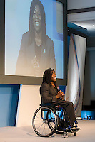TV presenter and Paralympics Olympic wheelchair basketball player Ade Adepitan