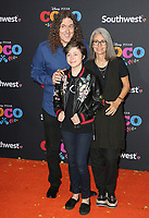 08 November 2017 - Hollywood, California - Weird Al Yankovic, Suzanne Yankovic. Disney Pixar's &quot;Coco&quot; Los Angeles Premiere held at El Capitan Theater. <br /> CAP/ADM/FS<br /> &copy;FS/ADM/Capital Pictures