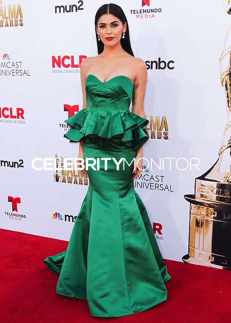 PASADENA, CA, USA - OCTOBER 10: Melissa Barrera, Crash arrives at the 2014 NCLR ALMA Awards held at the Pasadena Civic Auditorium on October 10, 2014 in Pasadena, California, United States. (Photo by Celebrity Monitor)