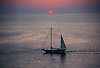 Sailing ship on the Mediterranean Sea with sunset<br /> <br /> Barco de vela en el Mar Mediterráneo con puesta de sol<br /> <br /> Segelschiff auf dem Mittelmeer mit Sonnenuntergang<br /> <br /> 1748 x 1188 px<br /> Original: 35 mm