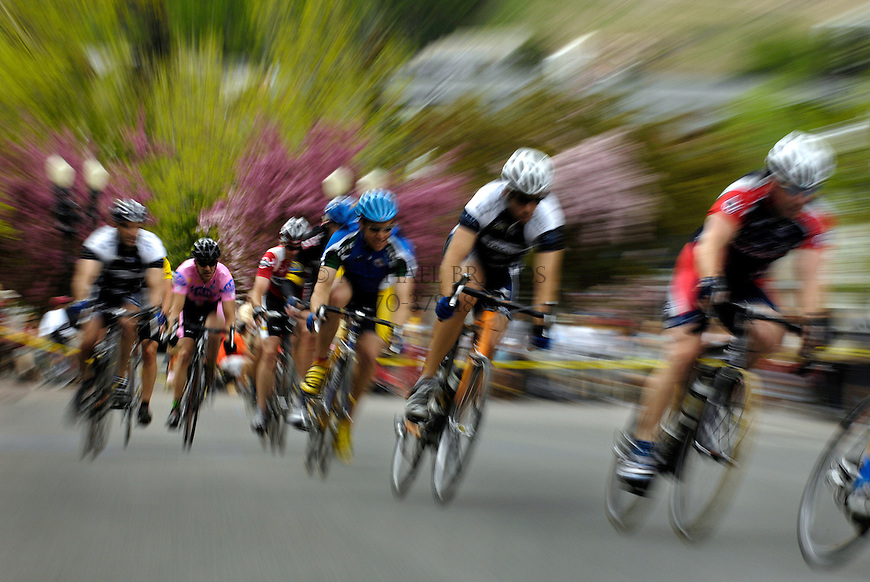 Criterium in downtown Aspen, CO.