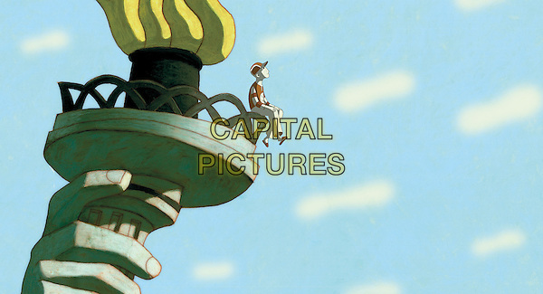 SCENE<br /> in Phantom Boy (2015) <br /> *Filmstill - Editorial Use Only*<br /> CAP/NFS<br /> Image supplied by Capital Pictures