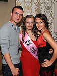 Dina Zhyshchynska celebrating her 18th birthday with boyfriend Dumitru Cuspuir and his sister Anastasia in the Star & Crescent. Photo: Colin Bell/pressphotos.ie