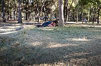 Lovers in Chapultepec Park, Mexico City