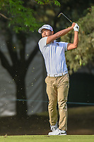 Satoshi Kodaira (JPN) hits his approach shot on 6 during round 2 of the World Golf Championships, Mexico, Club De Golf Chapultepec, Mexico City, Mexico. 2/22/2019.<br /> Picture: Golffile | Ken Murray<br /> <br /> <br /> All photo usage must carry mandatory copyright credit (© Golffile | Ken Murray)
