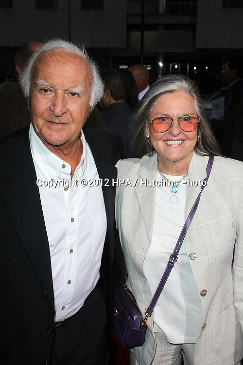 """LOS ANGELES - OCT 4:  Robert Loggia arrives at the """"ARGO"""" Premiere at Samuel Goldwyn Theater on October 4, 2012 in Beverly Hills, CA"""
