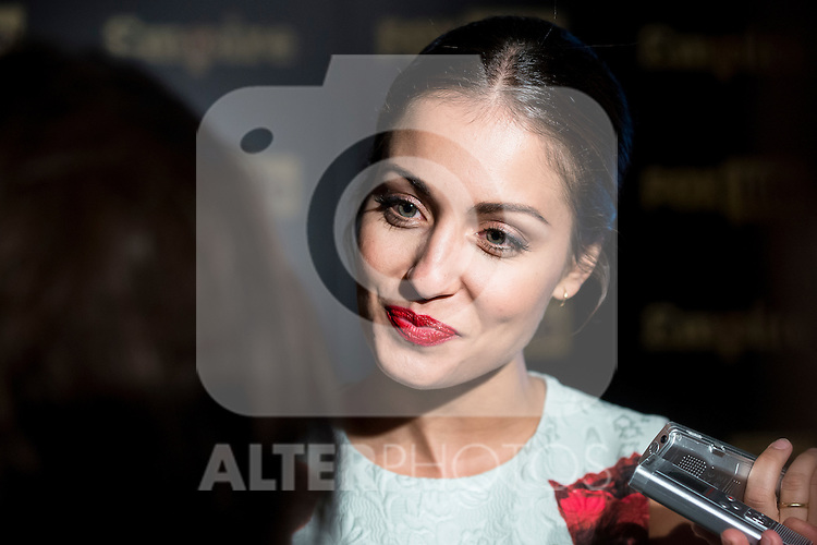 Hiba Abouk event ambassador Fox Life Save the Date in Marieta Madrid. 22 September 2015.<br /> (ALTERPHOTOS/BorjaB.Hojas)