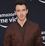 Kevin Jonas  arrives at the Premiere Of Amazon Prime Video's Chasing Happiness at Regency Bruin Theatre on June 03, 2019 in Los Angeles, California.