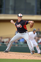 Atlanta Braves pitcher Mark Lamm (78) during a spring training game against the Detroit Tigers on February 27, 2014 at Joker Marchant Stadium in Lakeland, Florida.  Detroit defeated Atlanta 5-2.  (Mike Janes/Four Seam Images)
