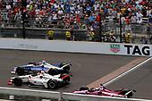 Stefan Wilson, Andretti Autosport Honda, Oriol Servia, Scuderia Corsa with RLL Honda