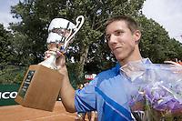 19-8-07, Amsterdam, Tennis, Nationale Tennis Kampioenschappen 2007, Winnaar Igor Sijsling