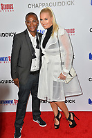 Tommy Davidson &amp; Amanda Moore at the premiere for &quot;Chappaquiddick&quot; at the Samuel Goldwyn Theatre, Los Angeles, USA 28 March 2018<br /> Picture: Paul Smith/Featureflash/SilverHub 0208 004 5359 sales@silverhubmedia.com