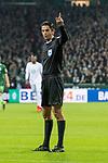 11.02.2018, Weserstadion, Bremen, GER, 1.FBL, SV Werder Bremen vs VfL Wolfsburg<br /> <br /> im Bild<br /> Deniz Aytekin (Schiedsrichter / referee),  <br /> <br /> Foto &copy; nordphoto / Ewert
