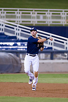 AZL Brewers Nick Egnatuk (24) on defense against the AZL Cubs on August 24, 2017 at Maryvale Baseball Park in Phoenix, Arizona. AZL Cubs defeated the AZL Brewers 9-1. (Zachary Lucy/Four Seam Images)