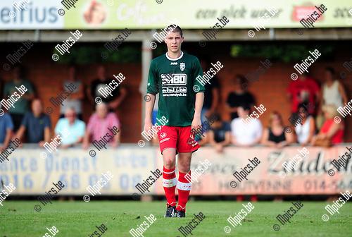 2014-07-22 / Voetbal / seizoen 2014-2015 / KFC Houtvenne / Steven Van Braeckel<br /><br />Foto: mpics.be