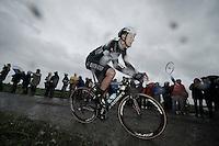 Niki Terpstra (NLD/OmegaPharma-Quickstep)<br /> <br /> 2014 Tour de France<br /> stage 5: Ypres/Ieper (BEL) - Arenberg Porte du Hainaut (155km)