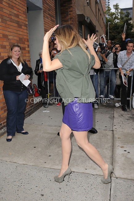 WWW.ACEPIXS.COM . . . . . .August 25 2010, New York City....Actress Drew Barrymore arrives to tape The Daily Show with Jon Stewart  on August 25, 2010 in New York City....Please byline: KRISTIN CALLAHAN - ACEPIXS.COM.. . . . . . ..Ace Pictures, Inc: ..tel: (212) 243 8787 or (646) 769 0430..e-mail: info@acepixs.com..web: http://www.acepixs.com .