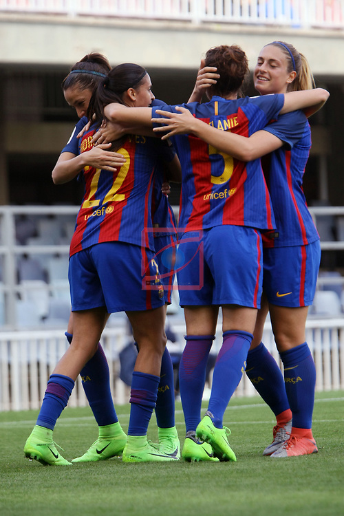 Spanish Women's Football League Iberdrola 2016/17 - Game: 21.<br /> FC Barcelona vs RCD Espanyol: 5-0.