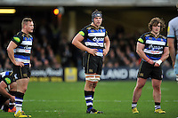 Charlie Ewels of Bath Rugby looks on. Aviva Premiership match, between Bath Rugby and Northampton Saints on December 5, 2015 at the Recreation Ground in Bath, England. Photo by: Patrick Khachfe / Onside Images