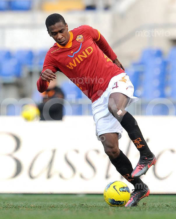 FUSSBALL INTERNATIONAL   SERIE A   SAISON 2011/2012    AS Rom - Inter Mailand  05.01.2012 Juan (AS Rom)