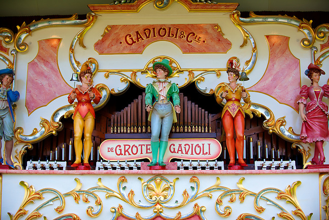 Gavioli Fairgrounf steam organs.