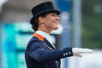 NED-Adelinde Cornelissen (JERICH PARZIVAL NOP) FINAL-1ST: INTERCHEM PRIJS GRAND PRIX FREESTYLE CDIO5*: 2014 NED-CHIO Rotterdam (Saturday 21 June) CREDIT: Libby Law COPYRIGHT: LIBBY LAW PHOTOGRAPHY - NZL