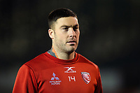 Matt Banahan of Gloucester Rugby looks on prior to the match. Premiership Rugby Cup match, between Bath Rugby and Gloucester Rugby on February 3, 2019 at the Recreation Ground in Bath, England. Photo by: Patrick Khachfe / Onside Images