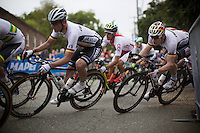 André Greipel (DEU/Lotto-Soudal) squeezing into a corner<br /> <br /> Elite Men Road Race<br /> UCI Road World Championships Richmond 2015 / USA