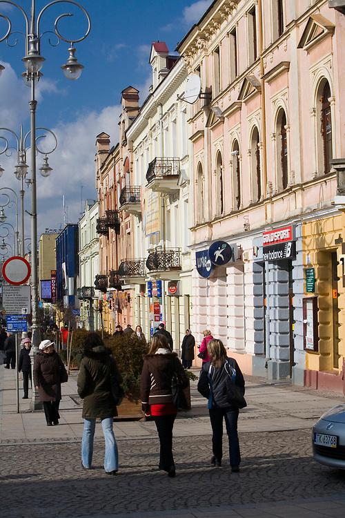 Ulica Sienkiewicza, Kielce<br /> Sienkiewicz street, Kielce