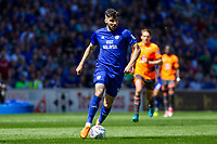 Callum Paterson of Cardiff City during the Sky Bet Championship match between Cardiff City and Reading at the Cardiff City Stadium, Cardiff, Wales on 6 May 2018. Photo by Mark  Hawkins / PRiME Media Images.