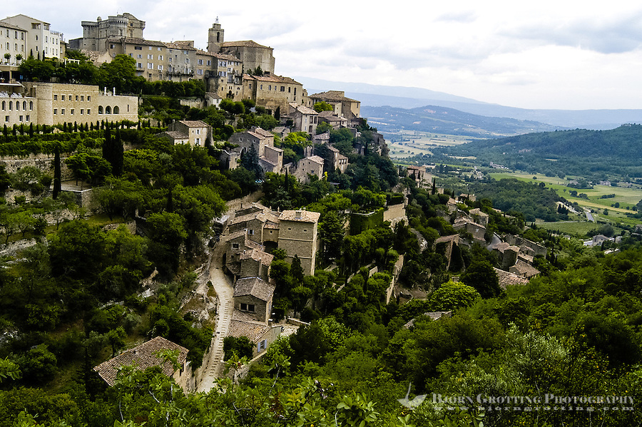 Gordes is a picturesque mountain village in Provence, southern France.
