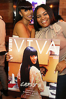 NEW YORK, NY - NOVEMBER 15, 2016 Cardi B celebrates her ViVa Vibe digital cover November 15, 2016 at MBV in New York City. Photo Credit: Walik Goshorn / Mediapunch