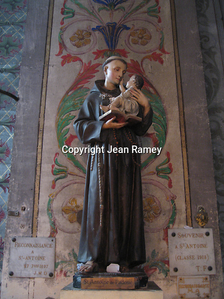 St. Anthony is popular in the Provence region of France, St. Remy en Provence