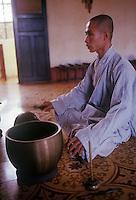 Buddhist  Monk  in southern Vietnam