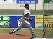 June 7, 2004:  Brian Tallet of the Lake County Captains, Low-A South Atlantic League affiliate of the Cleveland Indians, during a game at Classic Park in Eastlake, OH.  Photo by:  Mike Janes/Four Seam Images