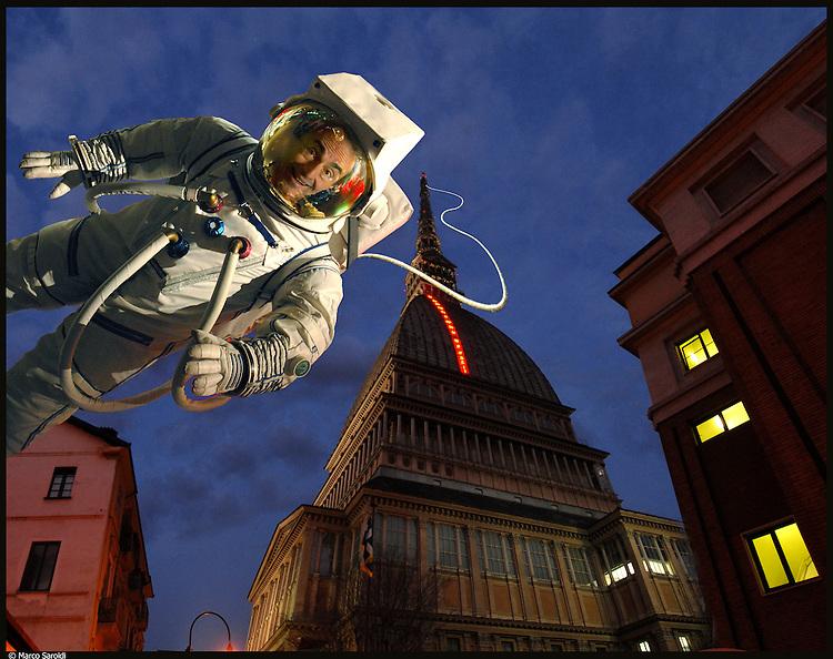 URBAN FLYER. <br /> Ugo Nespolo, artista.