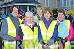 Women 2000, Killorglin members l-r: Christine Griffin, Teresa Brady, Barbara Brennan, Mary Foley and Chris O'Connell who participated in the Operation Transformation walk in Killarney on Saturday..