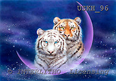 Kayomi, REALISTIC ANIMALS, paintings, tiger, MilkyWay_M, USKH96,#A# realistische Tiere, realista, illustrations, pinturas