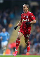 26th January 2020; Etihad Stadium, Manchester, Lancashire, England; English FA Cup Football, Manchester City versus Fulham; Bobby Reid of Fulham