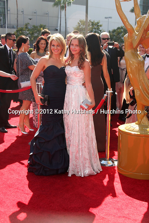 LOS ANGELES - SEP 15:  Candace Cameron Bure arrives at the  Primetime Creative Emmys 2012 at Nokia Theater on September 15, 2012 in Los Angeles, CA