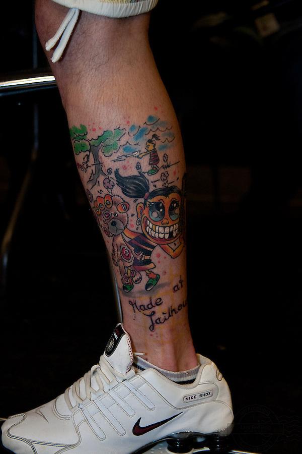 Tattoo Convention in Kolding 2011. Arranged by BodyMod.dk