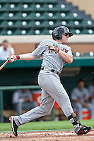 Chris Parmelee (27) of the Ft. Myers Miracle during a game vs. the Lakeland Flying Tigers June 6 2010 at Joker Marchant Stadium in Lakeland, Florida. Ft. Myers won the game against Lakeland by the score of 2-0.  Photo By Scott Jontes/Four Seam Images