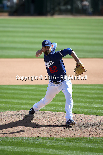 Louis Coleman - Los Angeles Dodgers 2016 spring training (Bill Mitchell)