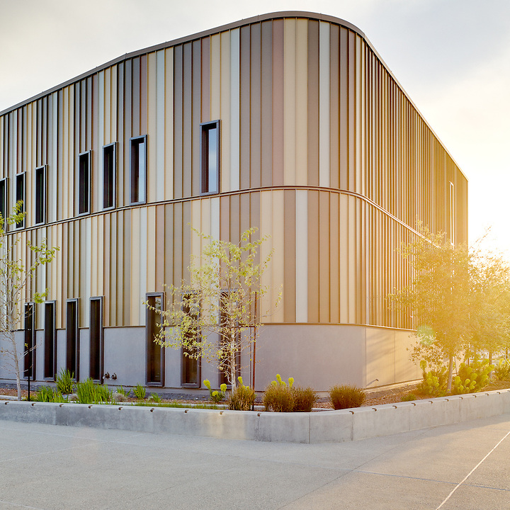The M.E. Fox Center at West Valley College, Saratoga, California. Steinburg Architects, Photographer GP Martin