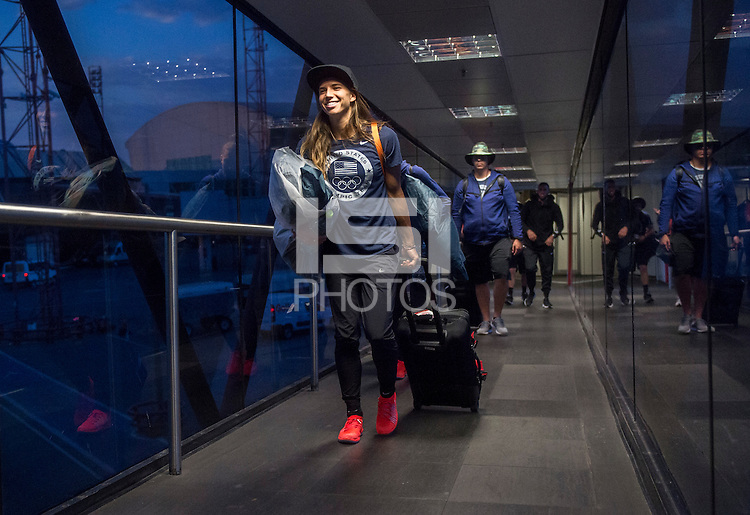 Brasilia, Brazil - August 10, 2016: The USWNT traveled to Brasilia in preparation for the quarterfinals of the 2016 Olympics at Mineirao Stadium.